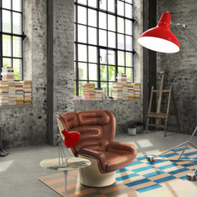 Oversized Floor Lamp Diana by Delightfull: the next iconic design?