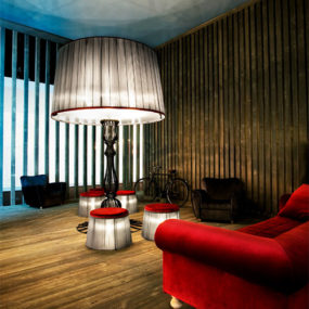 Contemporary Floor Lighting for socializing by Italamp