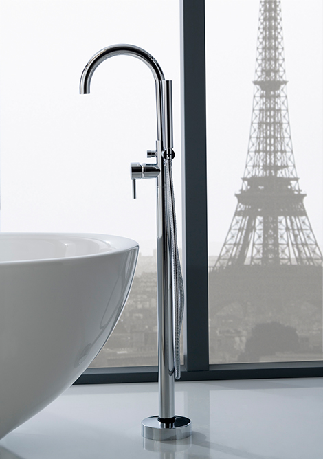 Floor Mounted Faucets And Tub Fillers By Graff