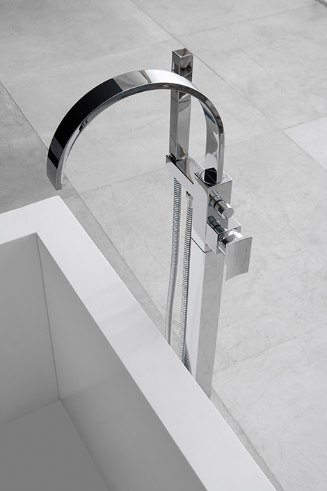floor mounted tub faucet graff