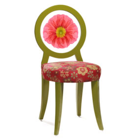 Floral Print Chairs – modern decorative chairs by Floral Art