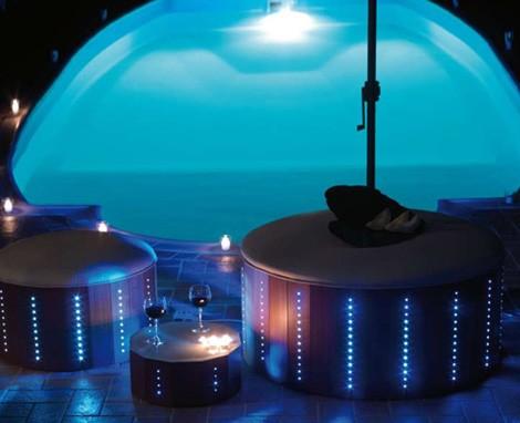 florastyle led poolside furniture 2 Cool LED Poolside Furniture from Florastyle