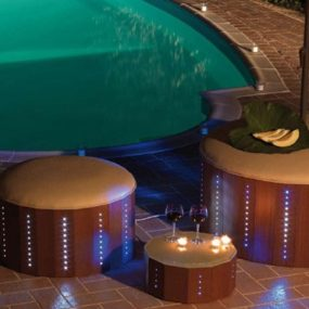 Cool LED Poolside Furniture from Florastyle