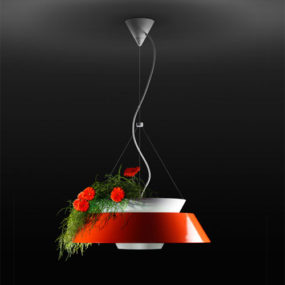 Flower Pot Lighting: pendant lamp Eden by Torremato