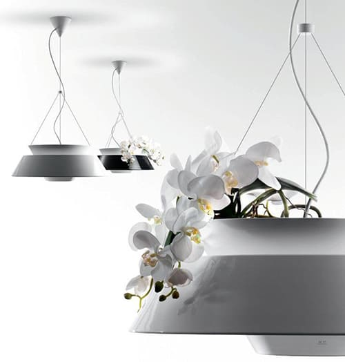 flower pot lighting pendant lamp eden torremato 4