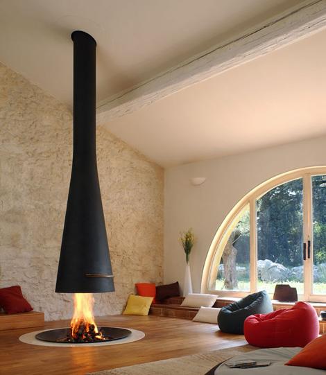 focus fireplace filiofocus telescopique