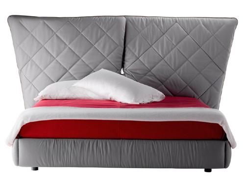 folding headboard bed poltrona frau lelit 1 Folding Headboard Bed by Poltrona Frau   Lelit