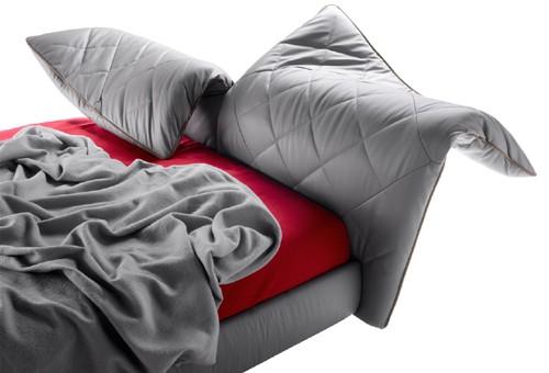 folding headboard bed poltrona frau lelit 4 Folding Headboard Bed by Poltrona Frau   Lelit