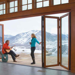 Contemporary Folding Doors for Modern Exterior – Incredibly Cool Doors by NanaWall