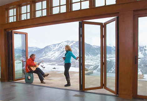 Contemporary Folding Doors for Modern Exterior - Incredibly Cool ...