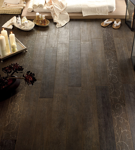fondovalle wood effect ceramic tile antique ironwood 2 Wood Effect Ceramic Tiles   antique wood effect tiles by Fondovalle