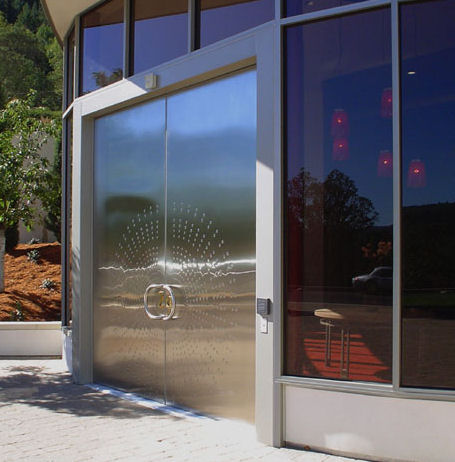 forms surfaces architectural metal doors