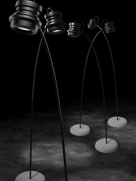 foscarini diesel lamp tool 4 Vintage Lighting Fixtures by Foscarini / Diesel   casual lighting Tool, Perf
