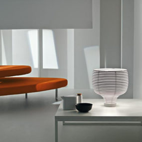Minimalist Table Lamp Behive by Foscarini