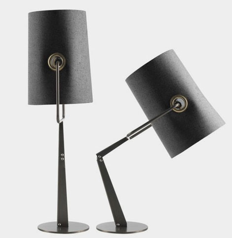 Funky Lamp – table and floor lamps Fork by Foscarini