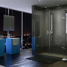 Frameless Shower Doors – new Purfect & Mechanix shower doors by Maax