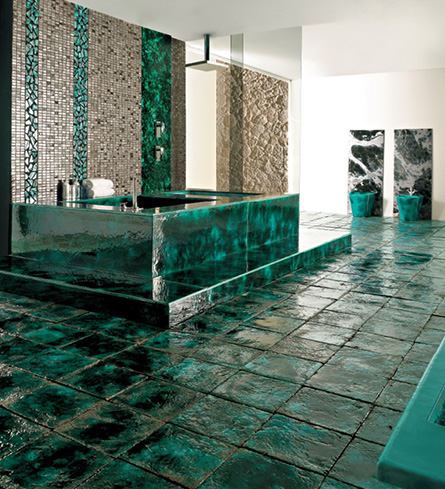 franco pecchioli gorgeous ceramic tiles 2 Gorgeous Ceramic Tiles by Franco Pecchioli   Green Vibrations collection