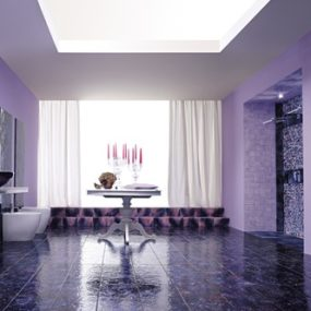 Purple Bathrooms and Purple Bathroom Ideas & Designs, by Franco Pecchioli Ceramica