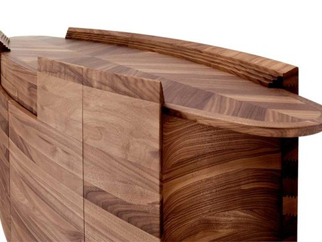 Greatest Solid Wood Furniture from Francoceccotti - Iconic Italian credenza  EP26