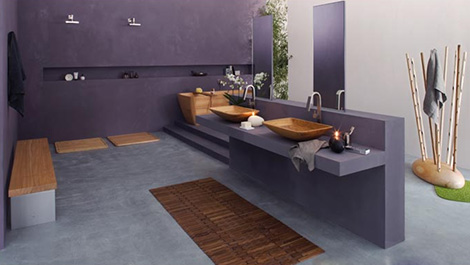 francoceccotti wooden bathroom Wooden Bathroom from Francoceccotti