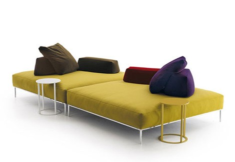 frank chaise lounge sofa bb italia
