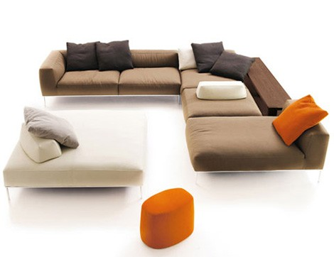 frank furniture bb italia Modular Sofas from B&B Italia   new sectional sofa Frank by Antonio Citterio
