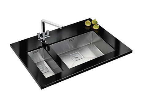 franke peak double sink