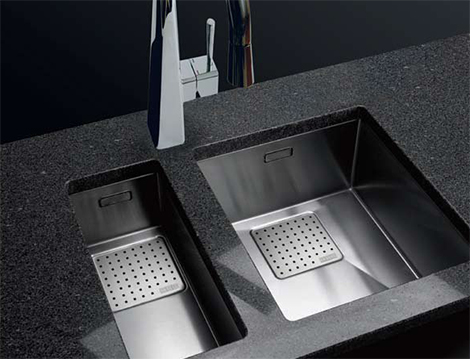 franke peak kitchen sink Franke Peak Sink Collection   new luxury kitchen sinks for 2010