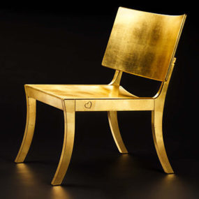 Designer Chair by Fredrik Mattson – new Golden Chair design promotes 'green' choice