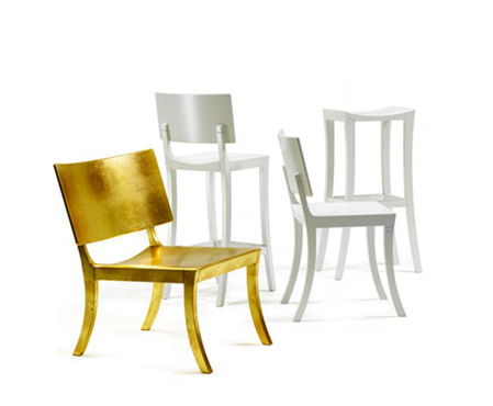 fredrik mattson golden chairs Designer Chair by Fredrik Mattson   new Golden Chair design promotes green choice