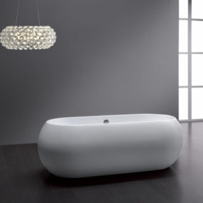 Free Standing Oval Tub – Bali by Aqualife