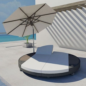 Sunbed Lounger by Freeline – Island sun bed