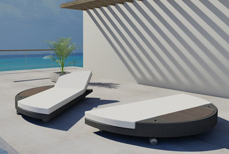 freeline sunbed island 4 Sunbed Lounger by Freeline – Island sun bed