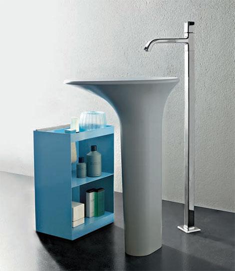 freestanding bathroom faucet faraway zucchetti