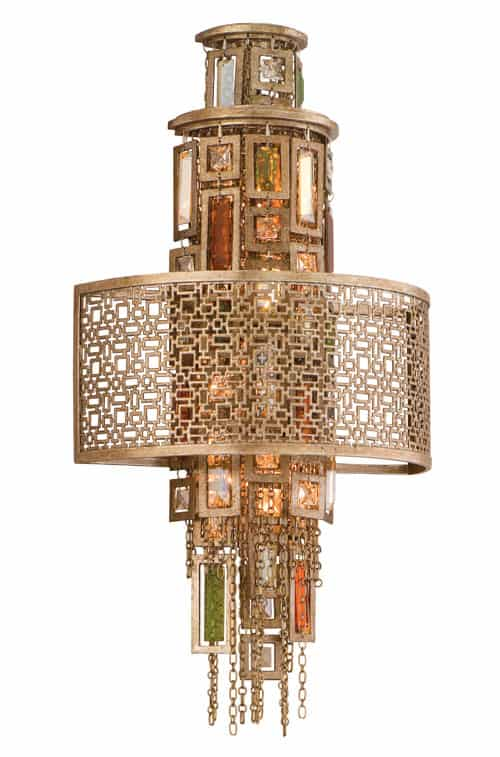 french inspired chandelier riviera suspension corbett lighting 3 French Inspired Chandeliers   Riviera Suspension Chandelier by Corbett Lighting