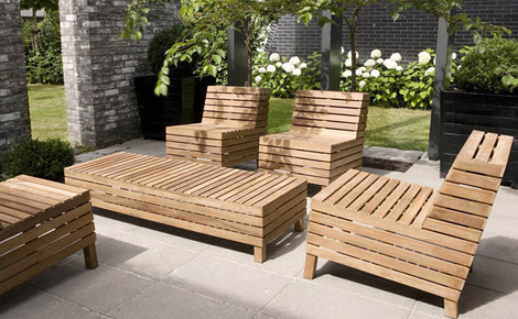 fretea03291 Free Line Teak Patio Furniture   fun and functional for your patio from Netherlands