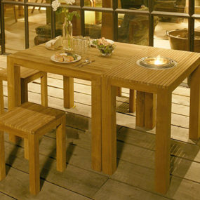 Free Line Teak Patio Furniture – fun and functional for your patio from Netherlands