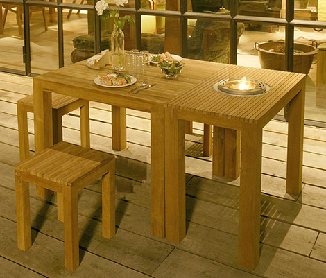 fretea03295 Free Line Teak Patio Furniture   fun and functional for your patio from Netherlands