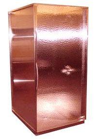 Copper Shower Enclosure by Frigo Design – a 'techy' trend
