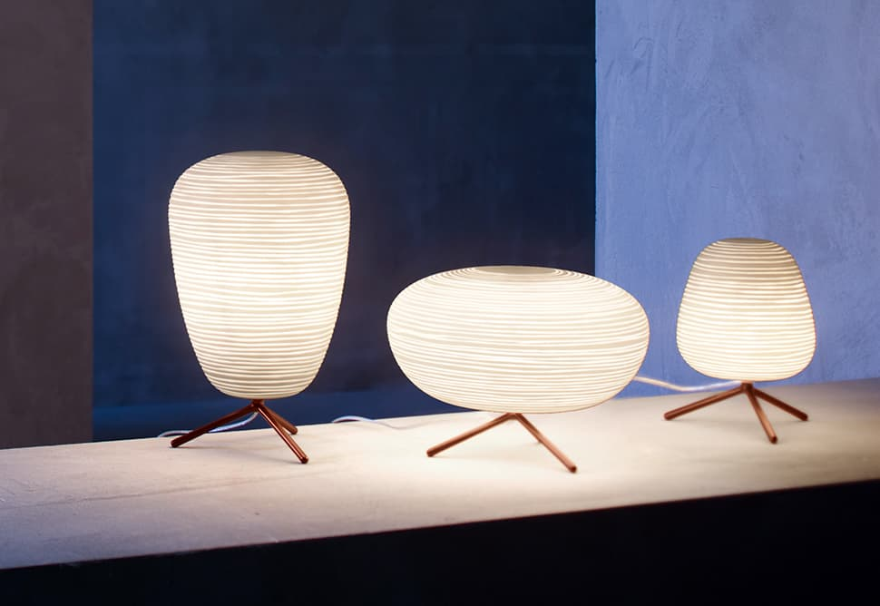 Frosted Glass Lantern Table Lamps By Foscarini U2013 Rituals