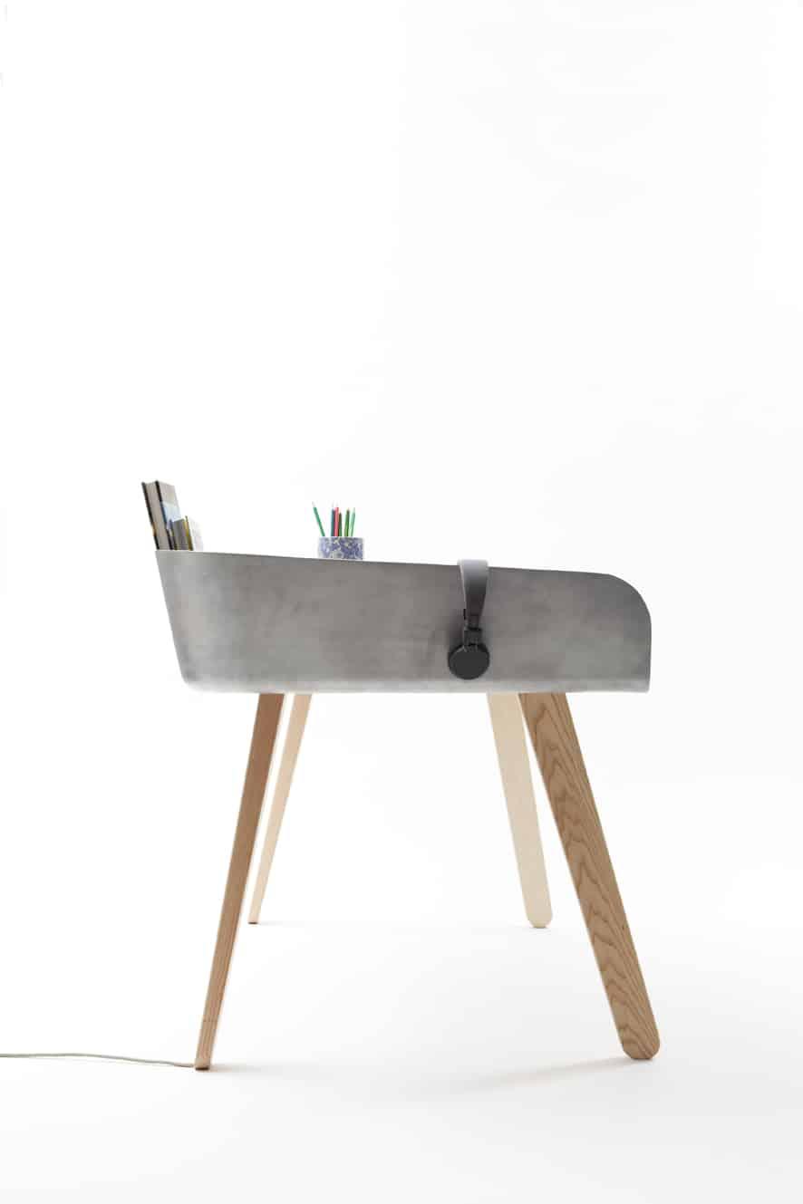 View In Gallery Functional Work Desk Homework By Tomas Kral 4.