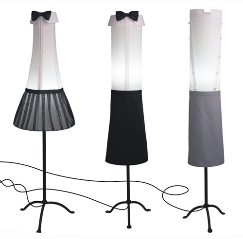 funky floor lamps angelika morlein 2 Funky Floor Lamps by Angelika Morlein inspired by Grand Hotel frequenters
