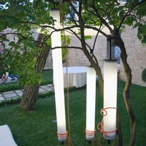 Funky Outdoor Lighting – Pistillo suspension lamps by Martinelli Luce