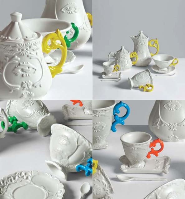 funky porcelain tableware from seletti i wares 4