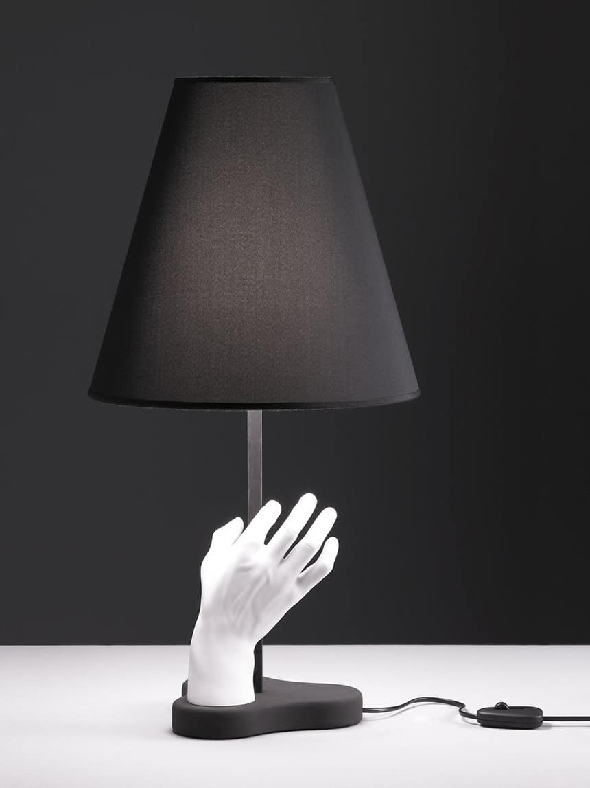 Funky Table Light Mano With Helping Hand From Fontanaarte