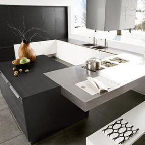 Black Walnut Kitchen by Futura Cucine
