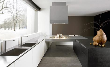 futuracucine kitchen giada 4 Black Walnut Kitchen by Futura Cucine