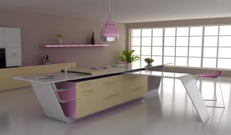 future kitchen concept mobalpa iris 1 Future Kitchen Concept by Mobalpa – Iris kitchens