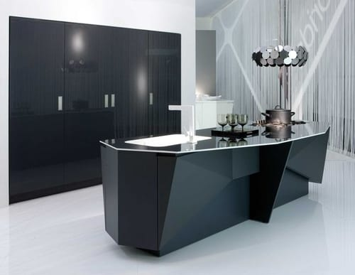 futuristic kitchen design by florida mesh - Futuristic Kitchen