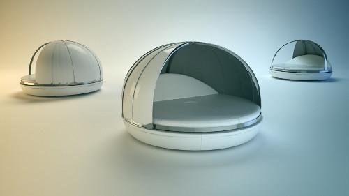 futuristic zero day bed from fanstudio 2 Futuristic Day Bed by Fanstudio